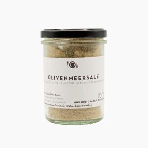 Olive sea salt