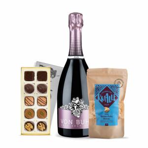 Feinkost Geschenkset mit Wein