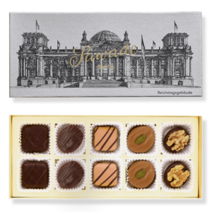 Sawade Box of chocolates Reichstag building Alcohol-free